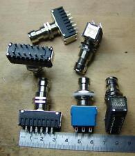 10x 4PDT STOMPBOXSWITCH Fuss-Schalter 4x um ST-Professional P-5000