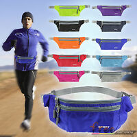 Womens Men Running Bag Waterproof Sport Camping Hiking Belt Bum Waist Pouch Pack