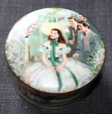 VINTAGE W.T. GEORGE Gone With The Wind MUSIC BOX Scarlett At Twelve Oaks
