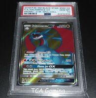 PSA 10 GEM MINT Salamence GX SM139 SM Black Star Promo FULL ART Pokemon Card