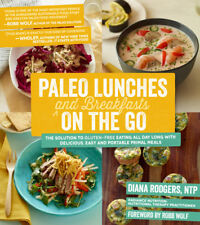 Paleo Lunches and Breakfasts on the Go by Diana Rodgers Brand New Book WT68849