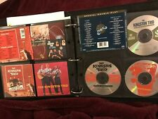 3 CD LOT The KINGSTON TRIO HERE WE GO AGAIN AT LARGE From The Hungry Sold Out