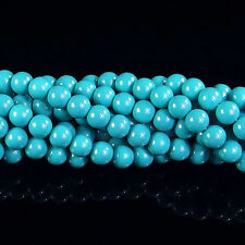 "Czech Opaque Coated Glass Pearl Spacer Beads 4mm 6mm 8mm 10mm 12mm 14mm 16"" DIY"