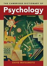 The Cambridge Dictionary of Psychology, , New Book