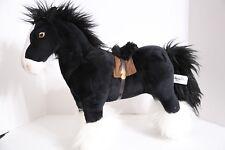 Disney Parks BRAVE Movie Agnus Black Horse Plush Toy Doll