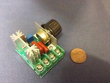 1x -- 220V 2000W Speed Controller SCR Voltage Regulator Dimmer Thermostat HMY c9