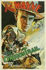 JOHN WAYNE 1936 movie poster THE OREGON TRAIL collectors western 24X36 HOT