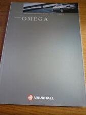 Vauxhall OMEGA BROCHURE 1999 JM