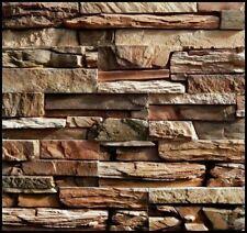 Plastic Molds Set Molds Stone for Concrete Plaster Wall Stone Brick Tiles Cement