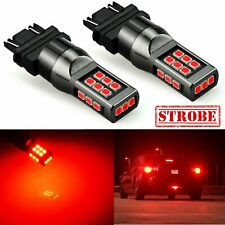 Jdm Astar 3157 Led Strobe Flashing Blinking Brake Tail Light Safety Warning Lamp