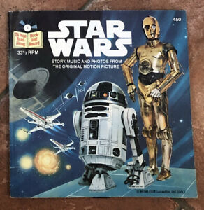 Star Wars - 24 page Read-Along Book and Record 33 1/3 RPM #450