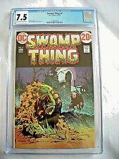 DC Comics SWAMP THING #4 CGC 7.5 VF- Bernie Wrightson 1973