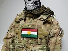 """3x6"""" Peshmerga Kurdistan Oversized Morale Patch for Plate Carrier Special Forces"""