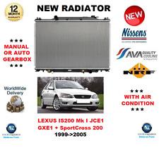 PARA LEXUS IS 200 MK I JCE1 GXE1 SportCross 200 1999->2005 RADIADOR CALIDAD OE