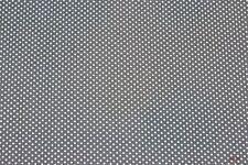Baumwolle Punkte grau/weiss (10 cm)
