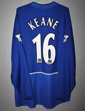 MANCHESTER UNITED 2002 2003 THIRD FOOTBALL SHIRT JERSEY LONG SLEEVE #16 KEANE
