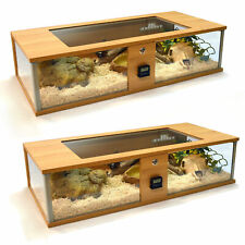 Vivexotic Repti-View Oak Maxi & Normal Vivarium Reptile Large Glass Panels