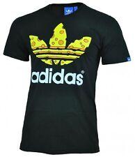 adidas Unifarben Herren-T-Shirts aus Baumwolle