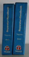 Workshop Manual/Handbook Talbot Tagora (2 Volumes) Stand 05/1980