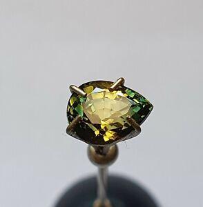 Australian Sapphire Party Sapphire Green Yellow 1.95ct