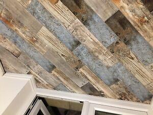 Vintage AVIA Wood Effect Porcelain 60x15 Wall / Floor Tiles, Per Sqm