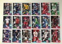 Topps Match Attax Extra 2020/2021 alle 18 zusätzl. 2.Liga Karten Komplett 20/21