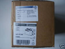 Four 4 pole main contactor  Square D LC1 F1154