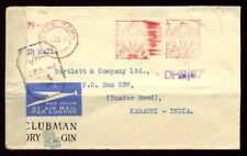 SOUTH AFRICA WW2 METER COVER CLUBMAN GIN CENSORED