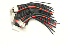 6S Li-Po Balance Cable Silicone 10cm 22AWG wire for A123 Lifepo4 RC Battery x 10