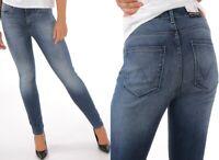 Wrangler Damen Jeanshose Body Bespoke High Rise Skinny Vintage Blau W25 - W32