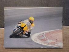 Carte Postale moto - Roberts sur YAMAHA au Grand Prix d'Espagne