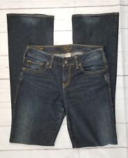 Silver Jeans Aiko Bootcut 28/35 Distressed Dark Wash Stretch