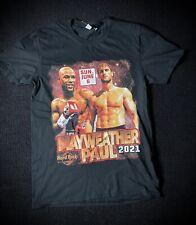 Mayweather vs logan Paul 2021 Boxing T-shirt Sz Small