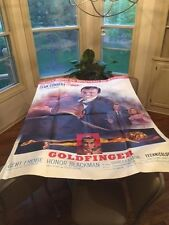 Goldfinger 1964 French AUTHENTIC Movie poster 63 by 47 Near MINT