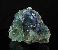 12.5cm Large Blue & Green FLUORITE Cubes from Okorusu Mine in Namibia 18335