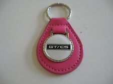 FORD MUSTANG SHELBY CALIFORNIA SPECIAL GT/CS BW KEYCHAIN KEYRING NEW PINK