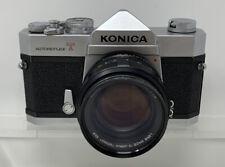 Konica Autoreflex T 35mm SLR Camera w/ Hexanon AR 57mm F1.4 Lens
