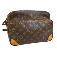 LOUIS VUITTON NILE CROSS BODY SHOULDER BAG PURSE MONOGRAM M45244 882TH 30878