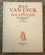Jean Van Eyck et le Polyptique - 2 volumes, 1950