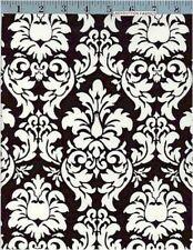 Dandy Damask, Black,  1 Yard Cut Cotton Fabric, Michael Miller, WOW