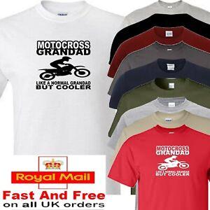 motocross grandad t shirt