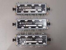 (3) Daico 100C0469M-2-6-12-21 Programmable Attenuator 1,2,4,8,16,32 dB USED
