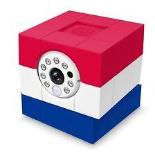 Amaryllo iCam HD Skype Wireless IP Camera - Red/White/Blue