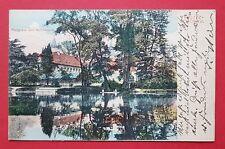 AK TEPLITZ SCHÖNAU in Böhmen 1912 Partie aus dem Schlosspark   ( 31508