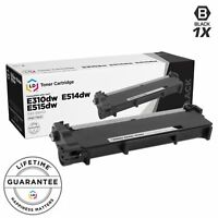 LD © Comp Black Cartridge for Dell Toner 593-BBKD P7RMX PVTHG 593-BBKC E310dw