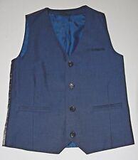 UK NEXT british boutique dark blue dressy vest boys 10 yrs 140 EXC