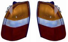 COPPIA FARO FANALE POSTERIORE PER MITSUBISHI L200 DX SX DAL 1996 STOP FANALINO