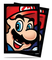 Ultra Pro SUPER MARIO TOAD 65 Count Standard Sized Sleeves New!