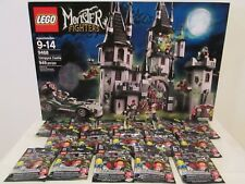 Lego Monster Fighters set 9468 Vampyre Castle +Complete Series 14 CMF BRAND NEW!