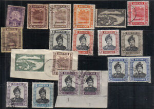 Brunei Early used collection